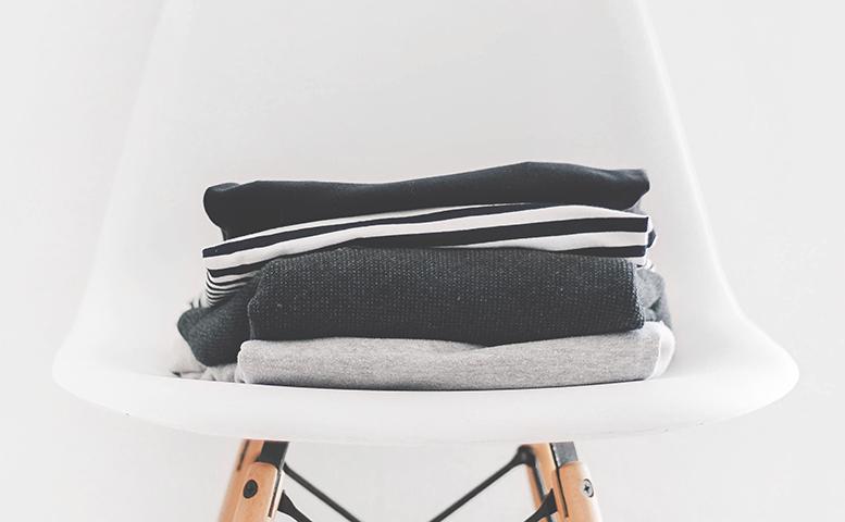 シンプルなデザインの布