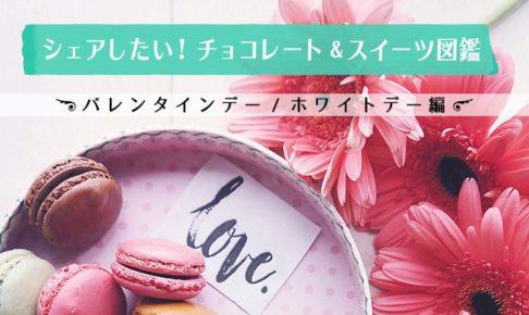 シェアしたい! チョコレート・スイーツ図鑑 バレンタイン&ホワイトデー編